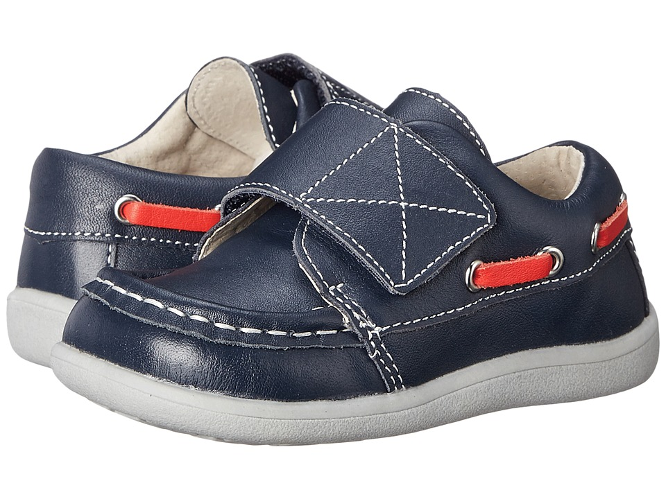 See Kai Run Kids Milton Toddler Navy Boys Shoes