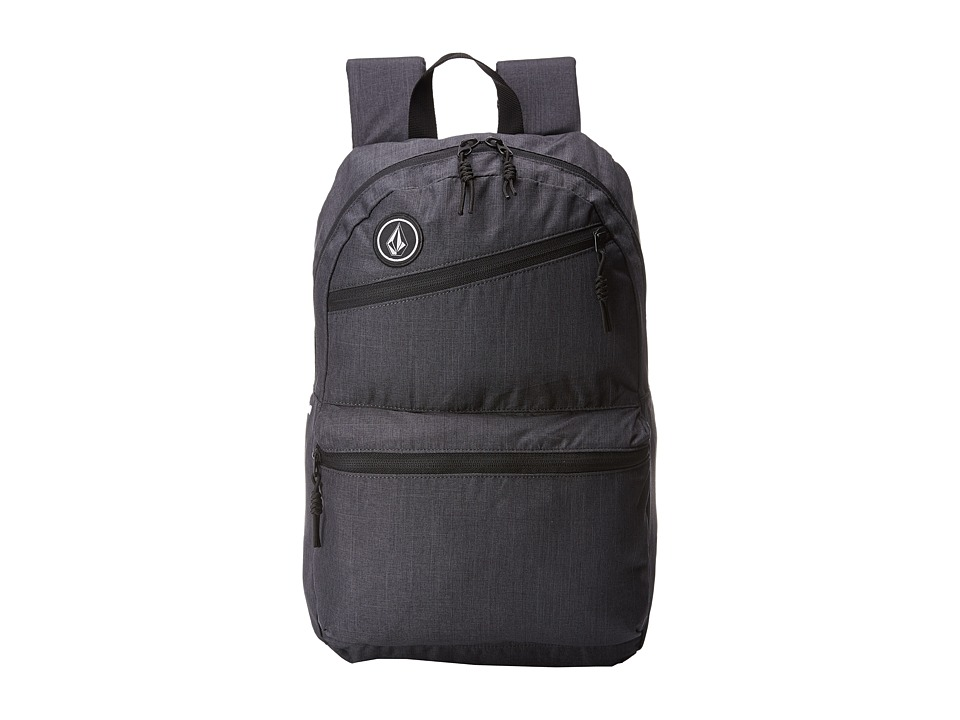 Volcom - Academy (Heather Black) Backpack Bags