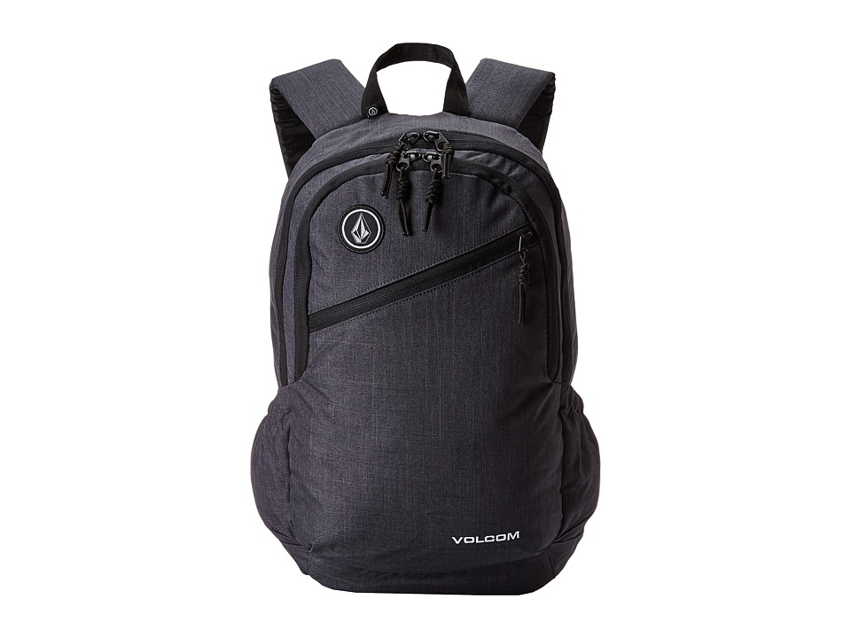 Volcom - Substrate (Heather Black) Backpack Bags