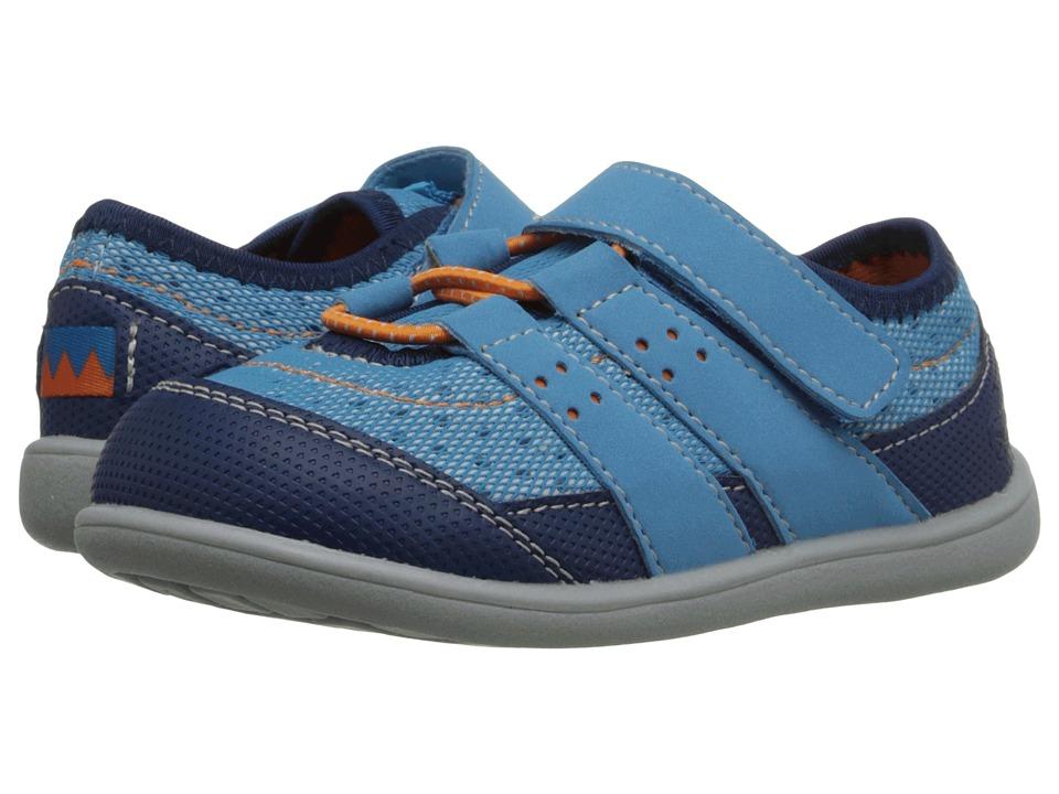See Kai Run Kids Rainier Toddler Blue Boys Shoes