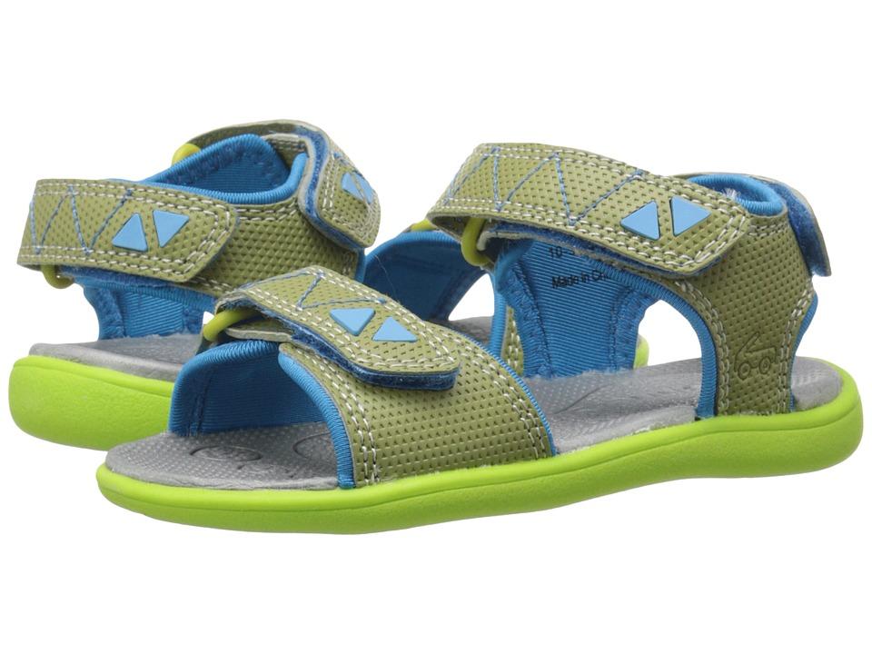 See Kai Run Kids Jetty Toddler Green Boys Shoes