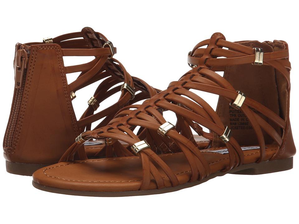 Steve Madden Kids Jcretee Little Kid/Big Kid Cognac Girls Shoes