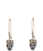 Betsey Johnson - Dark Shadows Skull Earrings