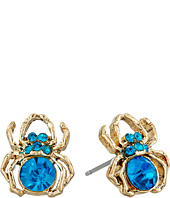 Betsey Johnson - Spider Lux Stud Earrings