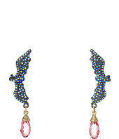 Betsey Johnson - Dark Shadows Bat Drop Earrings