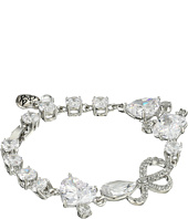 Betsey Johnson - CZ Rhinestone Stretch Bracelet