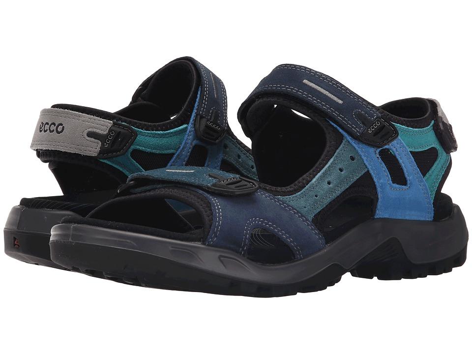 ECCO Sport Anniversary Yucatan Multicolor Mens Hook and Loop Shoes