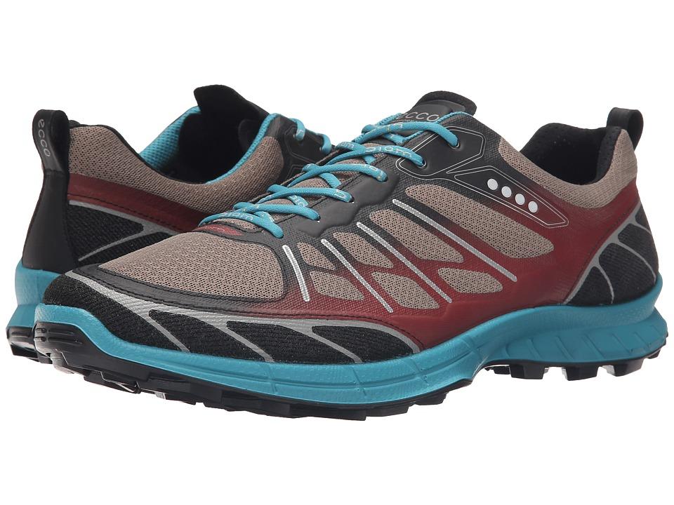 ECCO Sport - Biom Trail Sport (Black/Warm Grey/Pagoda Blue) Men
