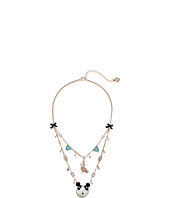 Betsey Johnson - Pearl Critters Bird Illusion Necklace