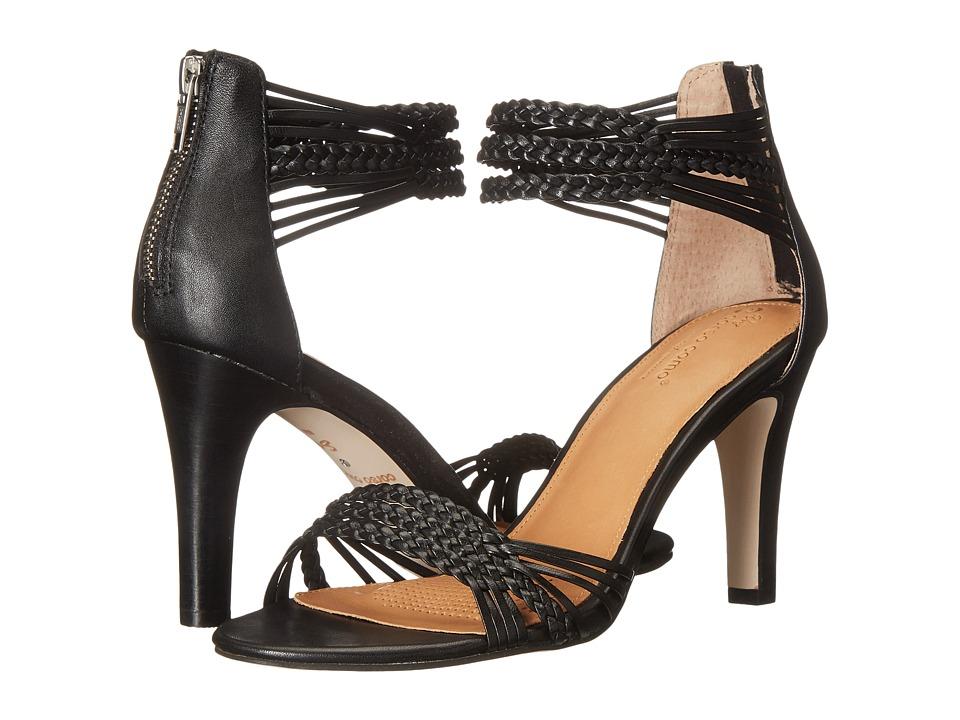 Corso Como Zimroa Black Nappa High Heels