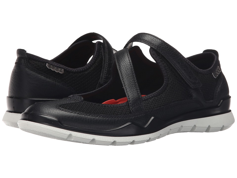 ECCO Sport - Lynx Mary Jane (Black/Black) Womens Maryjane Shoes