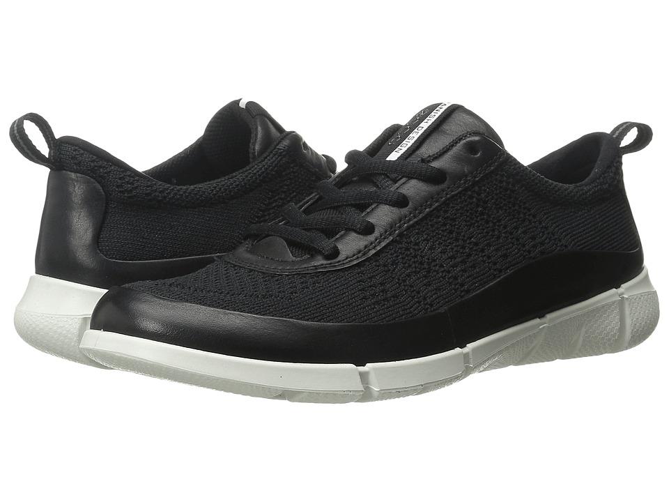 ECCO Sport - Intrinsic Knit (Black/Black) Womens Walking Shoes
