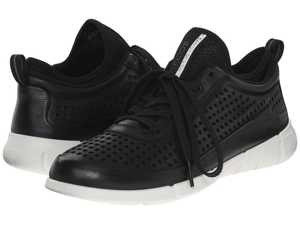 ECCO Sport Intrinsic Sneaker Black Womens Walking Shoes