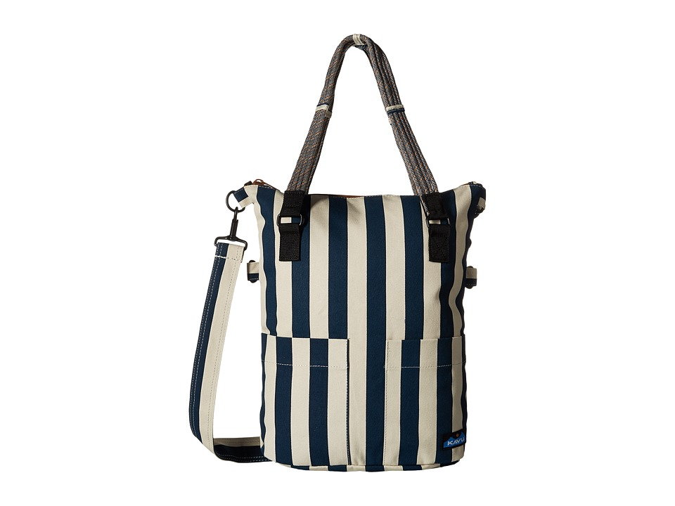 KAVU - Foothill Tote (Nautical Stripe) Tote Handbags