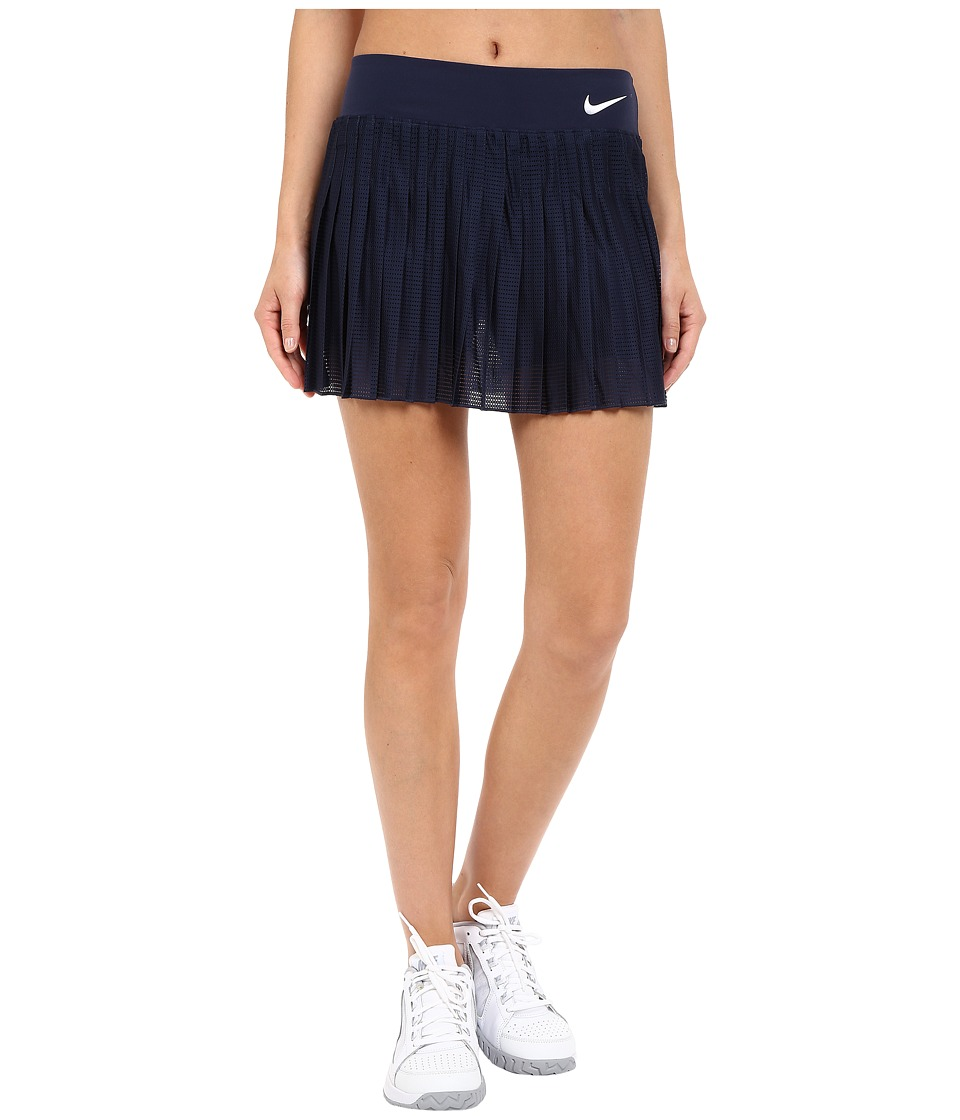 Nike Court Victory Premier Tennis Skirt Obsidian/White Womens Skort