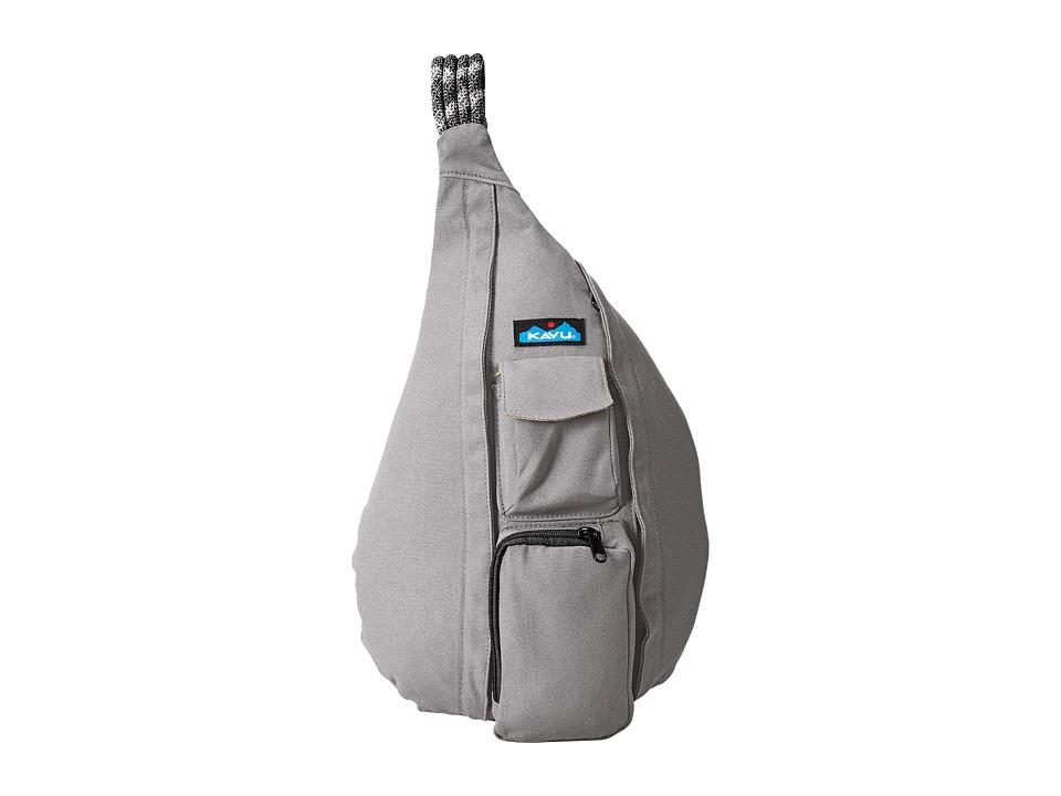KAVU Rope Bag Grey Bags