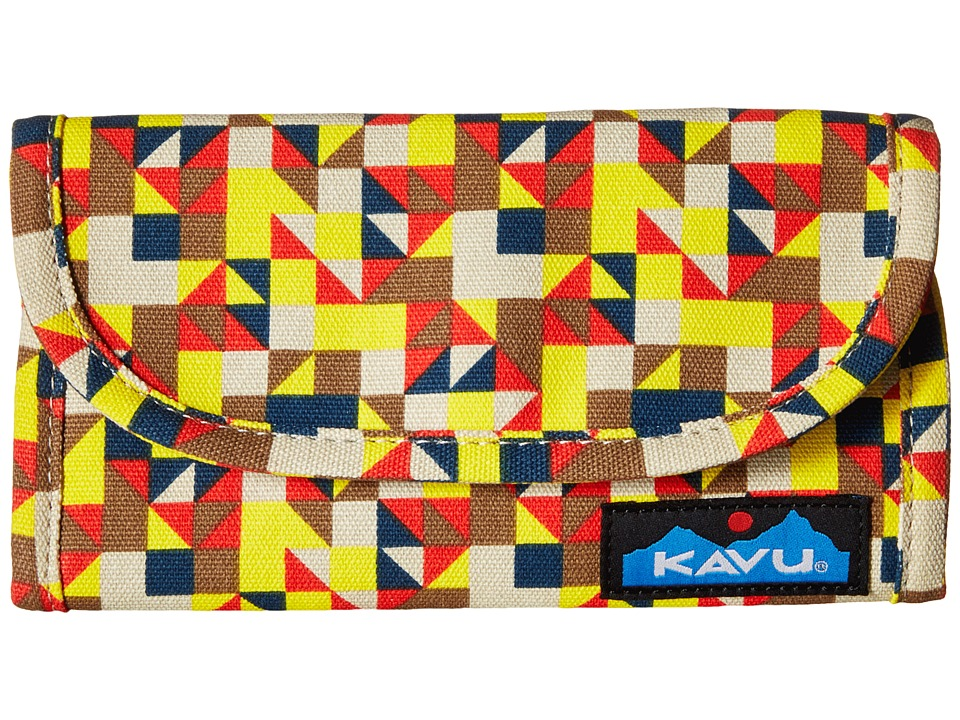 KAVU - Big Spender (Desert Quilt) Wallet Handbags