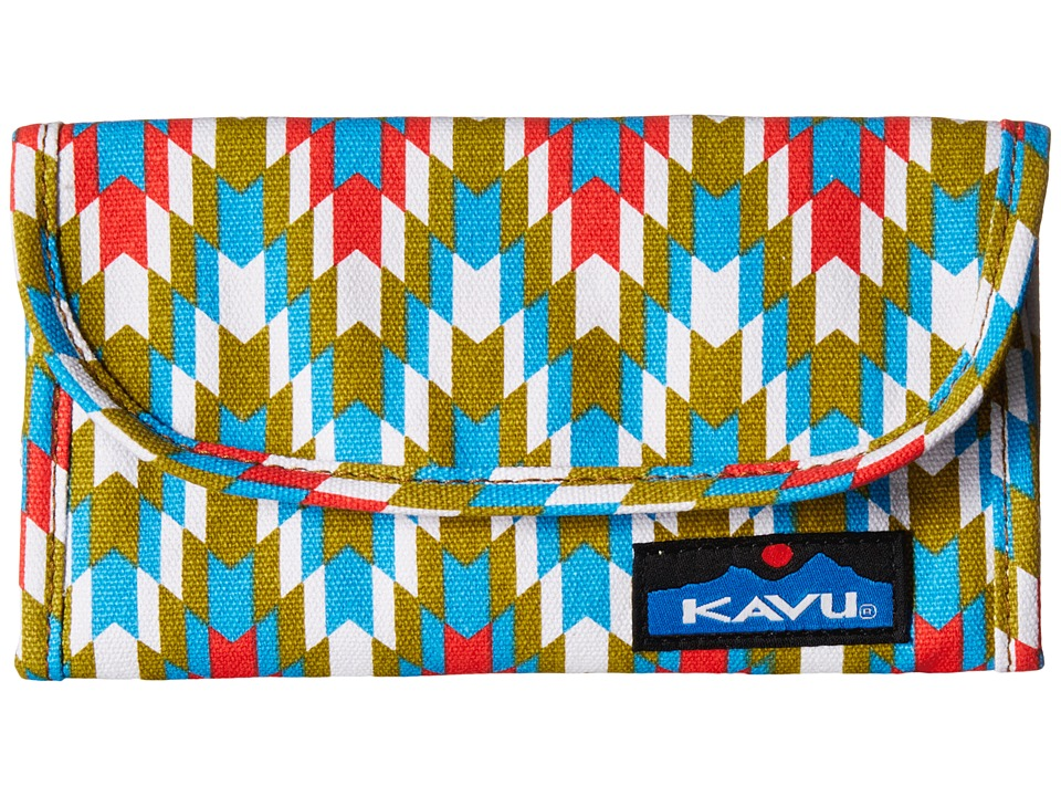 KAVU - Big Spender (Garden Tile) Wallet Handbags
