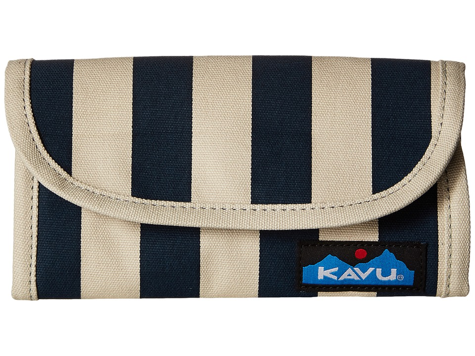 KAVU - Big Spender (Nautical Stripe) Wallet Handbags