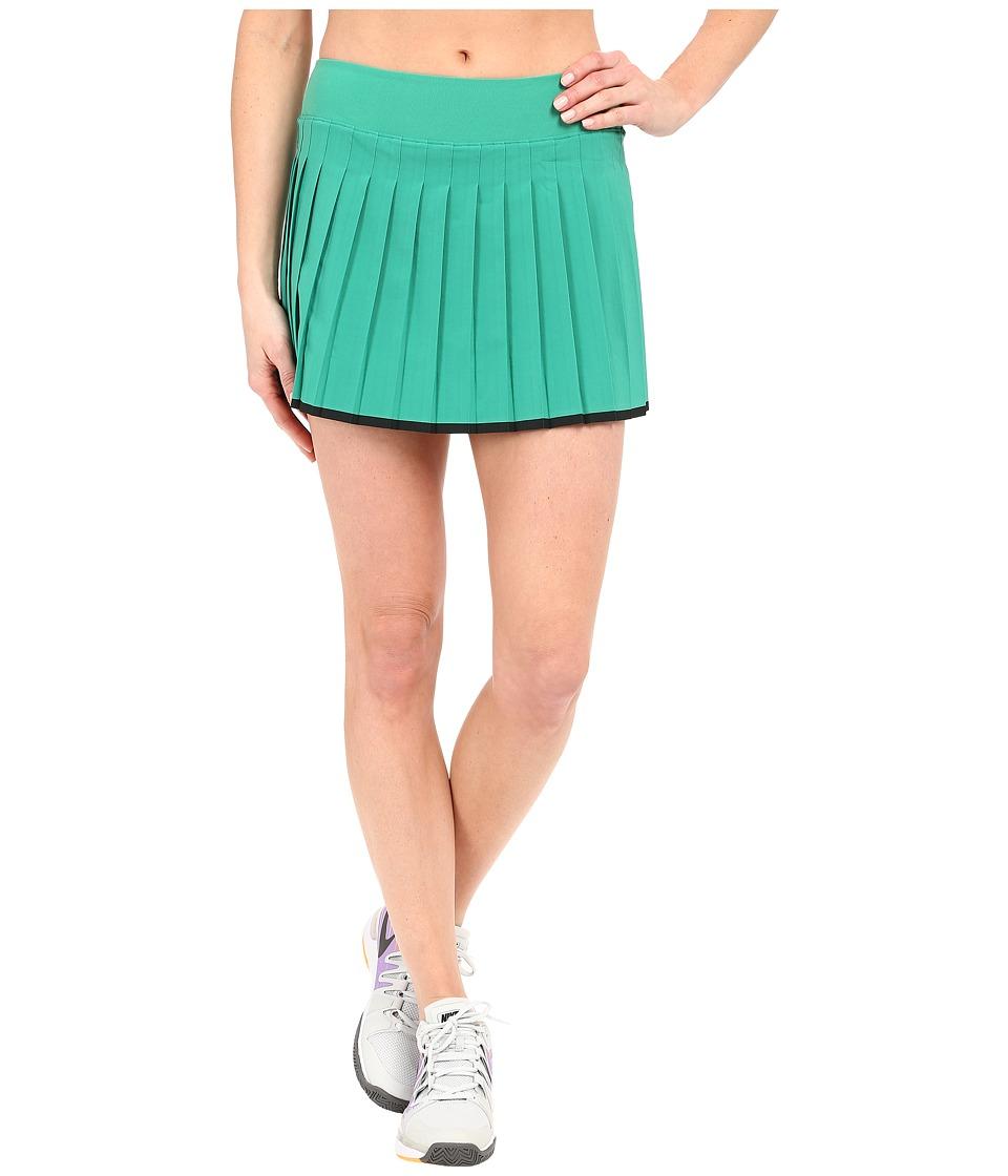 Nike Victory Skirt Lucid Green/Black/White Womens Skort