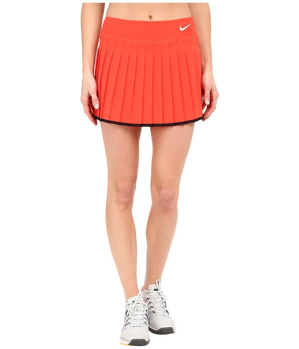 Nike Victory Skirt Light Crimson/Black/White Womens Skort