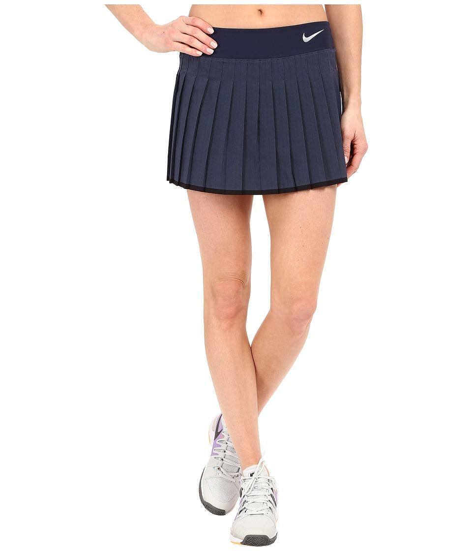 Nike Victory Skirt Midnight Navy/Heather/White Womens Skort