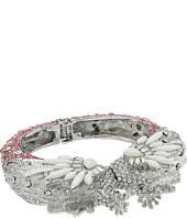 Betsey Johnson - Ballerina Rose Swan Hinge Bangle
