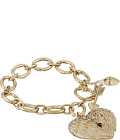 Betsey Johnson - Heaven Sent Wing Heart Toggle Bracelet
