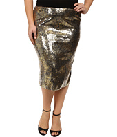 Kiyonna - Baroque Sequin Pencil Skirt