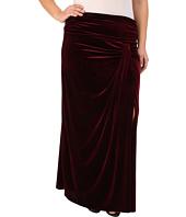 Kiyonna - Velvet Opulence Maxi Skirt