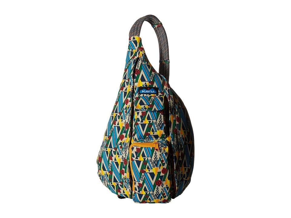 KAVU Rope Bag Woodland Art Backpack Bags