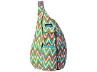 KAVU Rope Bag (Garden Tile)