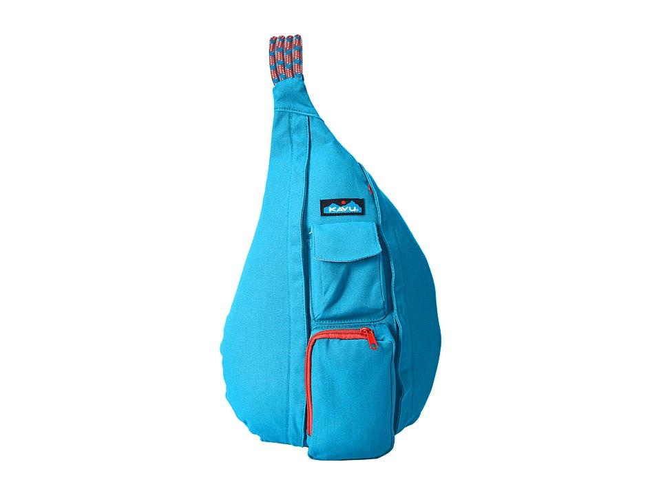 KAVU Rope Bag River Blue Backpack Bags