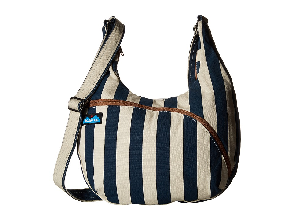 KAVU - Sydney Satchel (Nautical Stripe) Satchel Handbags
