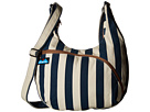 KAVU Sydney Satchel (Nautical Stripe)