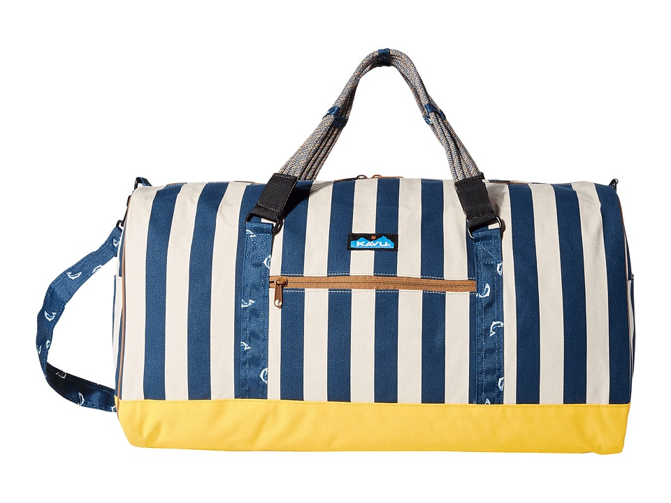 KAVU - Duffy (Nautical Stripe) Bags