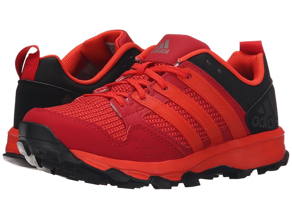 adidas Kids - Kanadia 7 TR (Little Kid/Big Kid) (Power Red/Bold Orange/Vivid Red) Boys Shoes