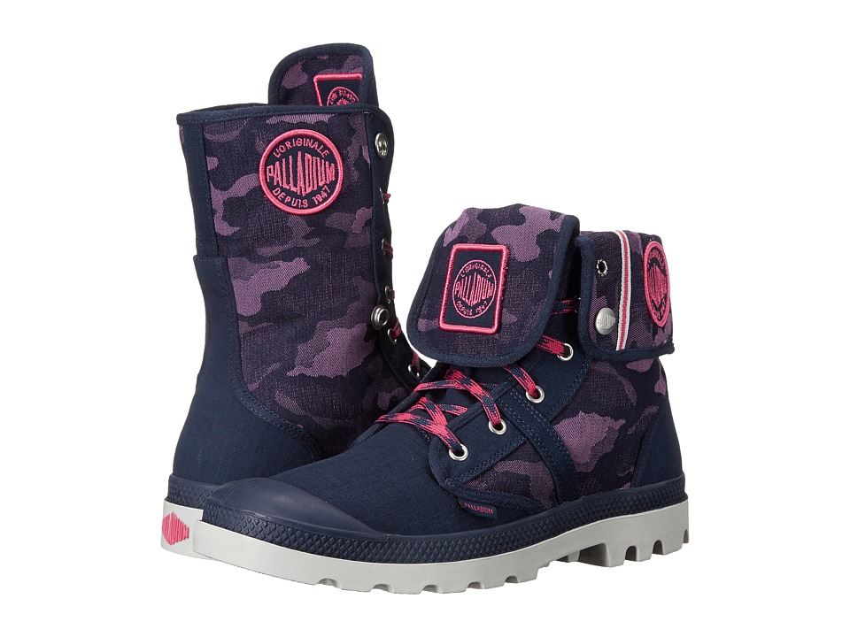 Palladium - Pallabrouse BGY EXTX (Navy/Magenta/Dawn Blue) Lace-up Boots