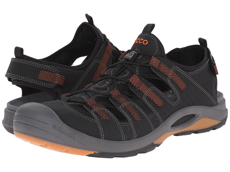 ECCO Sport BIOM Delta Black/Black/Picante Mens Shoes