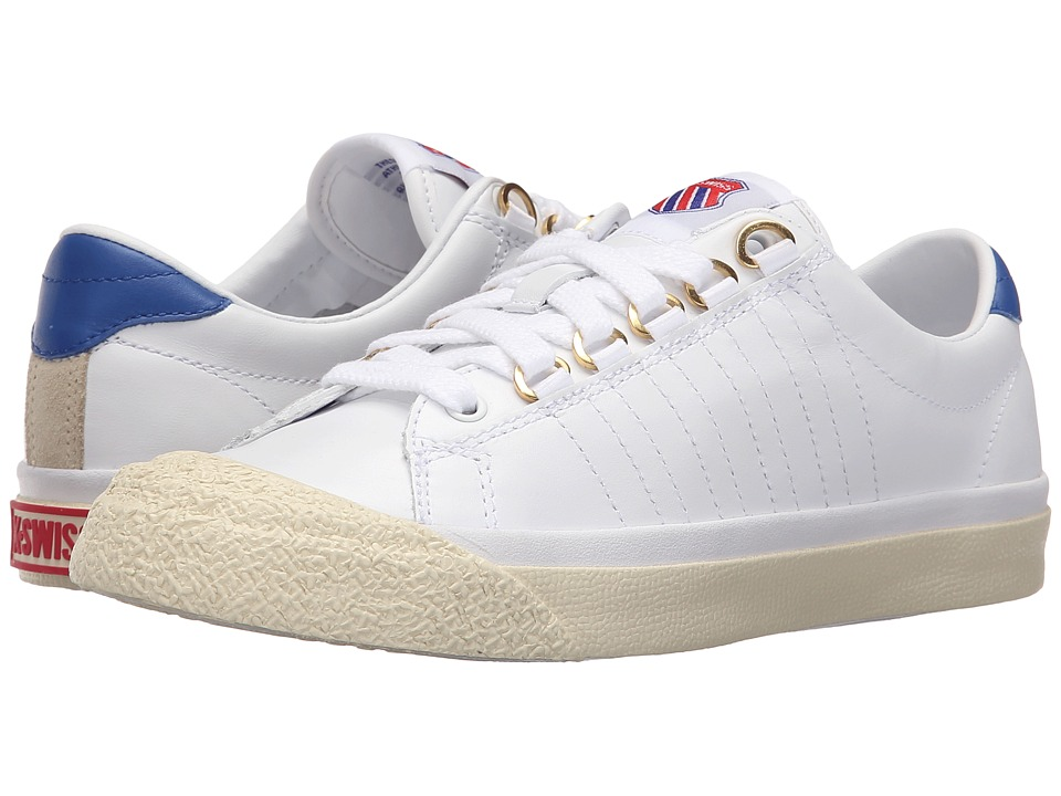 K-Swiss Irvine OG 50th (50th/White/Classic Blue/Ribbon Red Leather) Women