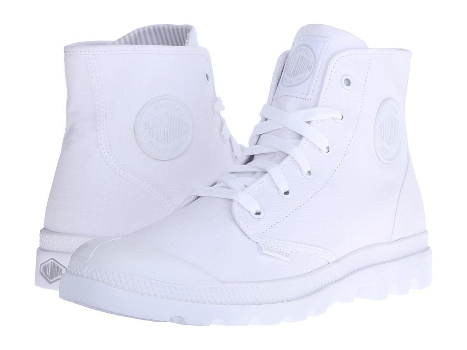Palladium Pampa Hi Lite White/Vapor Mens Lace up Boots
