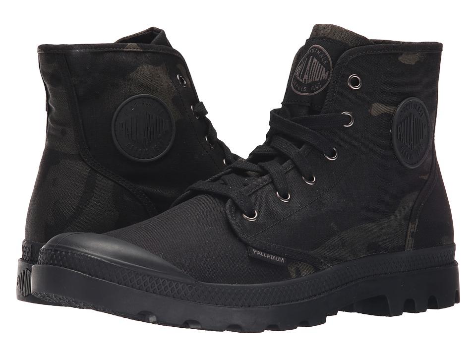 Palladium Pampa Hi Multicam Black Camo Mens Lace up Boots