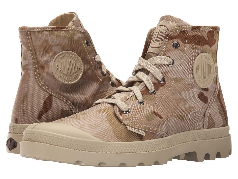 Palladium Pampa Hi Multicam Arid Camo Mens Lace up Boots