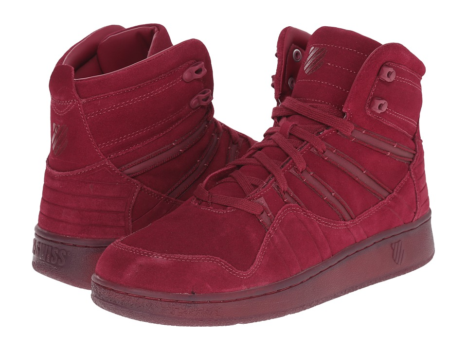 K-Swiss - Volley Mid Suede Reflective (Rhododendron/Rhododendron Suede) Men