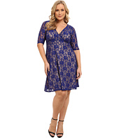 Poppy & Bloom - Plus Size Royal Treatment Lace Dress