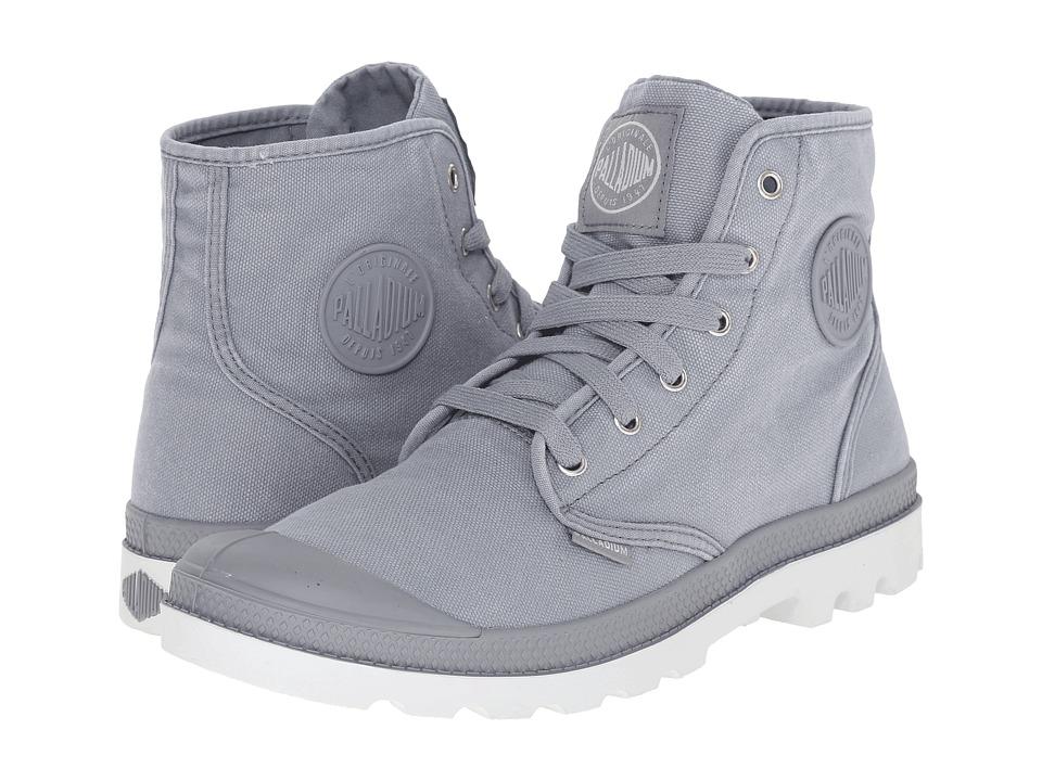 Palladium Pampa Hi Monument/Dawn Blue Mens Lace up Boots