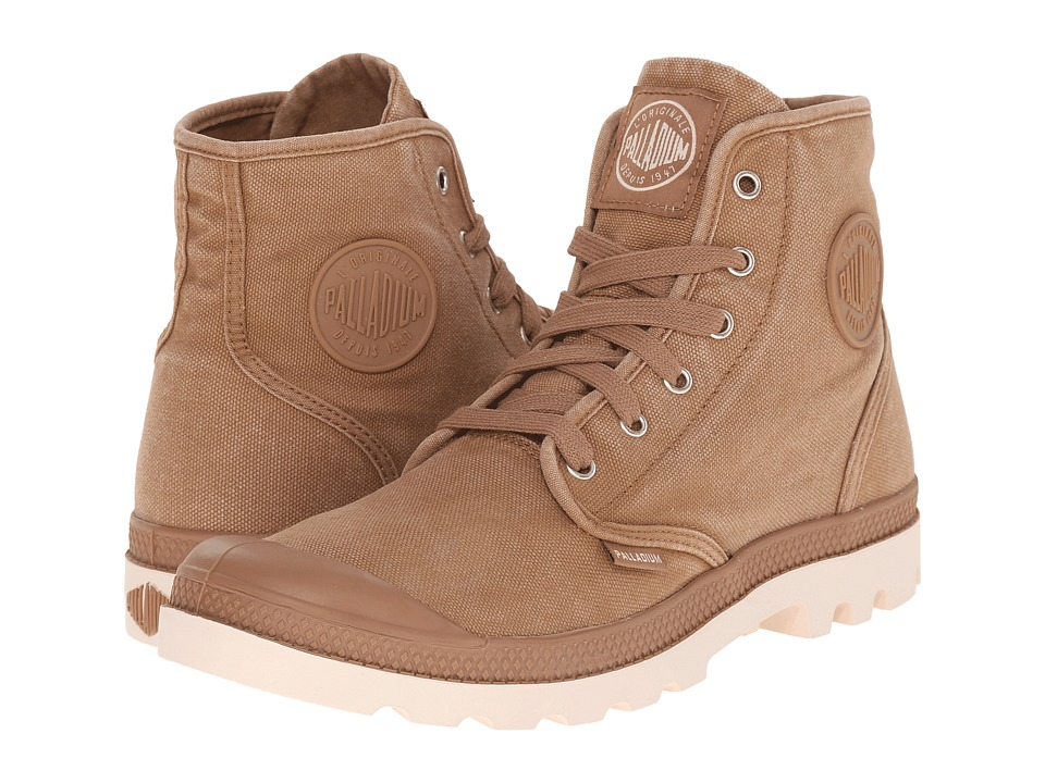 Palladium Pampa Hi Toasted Coconut/Sand Dollar Mens Lace up Boots
