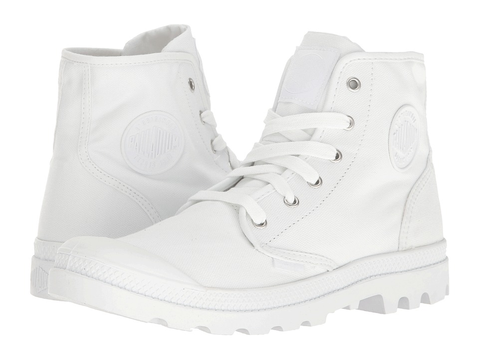 Palladium Pampa Hi (White/White) Men