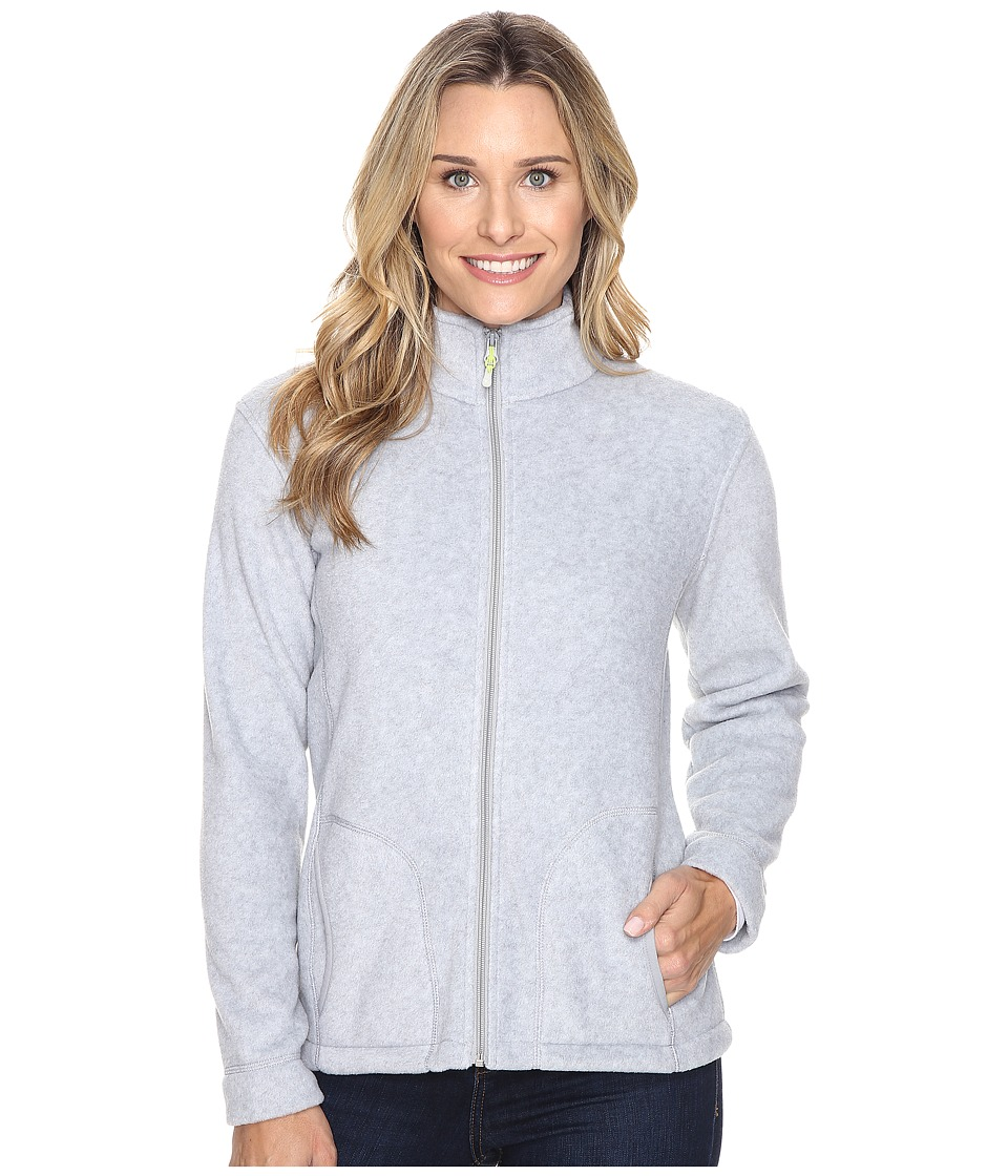 Woolrich Andes Fleece Jacket (Lt Gray Heather) Women