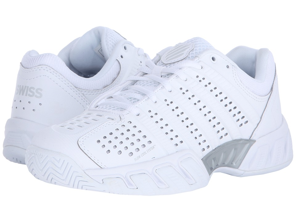 K-Swiss Bigshot Light 2.5 (White/White Synthetic Leather) Women